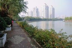 Fleuve de Qinhuai Photographie stock