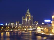 Fleuve de Quay Moscou Photographie stock libre de droits