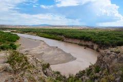 Fleuve de Rio Grande Photos libres de droits