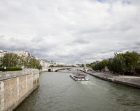 Fleuve de Seine Image stock