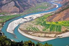 Fleuve de Yang Tsé Kiang Photo libre de droits