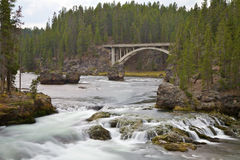 Fleuve de Yellowstone Images stock