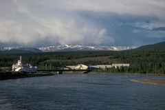 Fleuve de Yukon Photo stock
