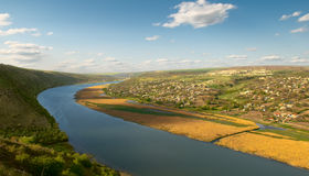 Fleuve Dniester Images stock