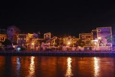 Fleuve du Malacca images stock