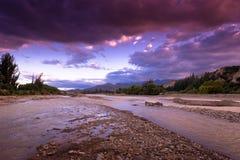 Fleuve en Bolivie Photo libre de droits