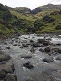 Fleuve en Islande Photographie stock