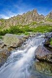 Fleuve en montagnes Photographie stock