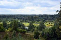 Fleuve en Russie Photo stock