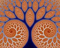 Fleuve et îles (fractal29c) illustration libre de droits