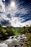 fleuve frais de montagne Photos libres de droits