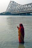 Fleuve indien Image libre de droits