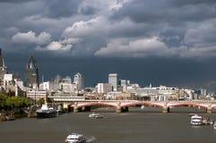 Fleuve la Tamise, Londres Images libres de droits