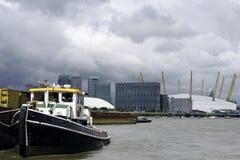Fleuve la Tamise, Londres, Images libres de droits
