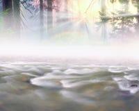Fleuve magique Image libre de droits