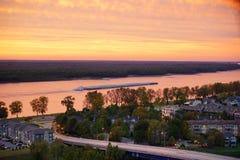 Fleuve Mississippi Image libre de droits