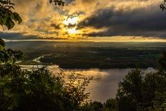 Fleuve Mississippi Photos libres de droits