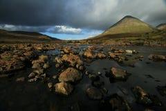 Fleuve montagneux Photos stock