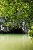 Fleuve national de ParkSubterranean de fleuve souterrain photo libre de droits