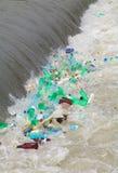 Fleuve pollué Image libre de droits