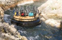 fleuve rapide de conduite Image stock