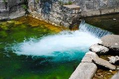 Fleuve rapide de montagne Photo libre de droits