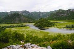 Fleuve rapide de montagne Photographie stock libre de droits