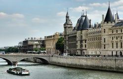 Fleuve Seine Photographie stock libre de droits