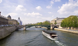 Fleuve Seine Photo stock