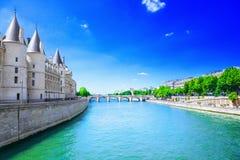 Fleuve Seine Images stock