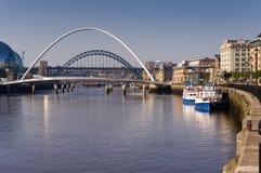 Fleuve Tyne Images libres de droits