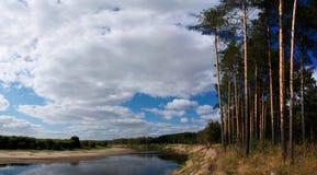 Fleuve Viatka Photographie stock libre de droits