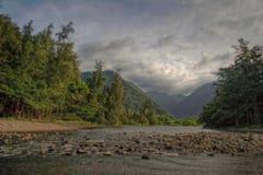 Fleuves de Hawai Images libres de droits