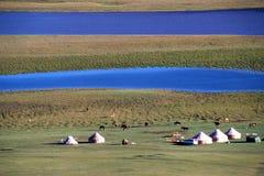 fleuves de prairie Photo libre de droits