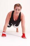 Flexões de braço Imagem de Stock Royalty Free