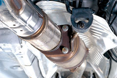 Free Flex Tubes In Exhaust Supension System Stock Images - 31470054