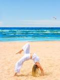Flexible body Royalty Free Stock Image