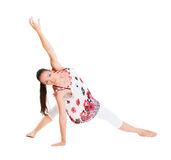 Flexible dancer Stock Photo