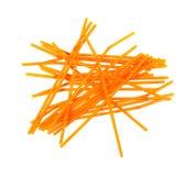 Flexible Drinking Straws Orange Royalty Free Stock Image