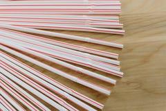 Flexible drinking straws Royalty Free Stock Image