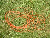 The flexible extension cable Stock Photography