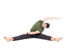 Flexible man Stock Images