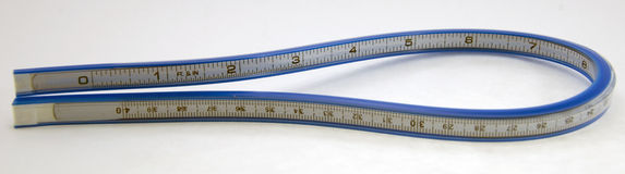 Flexible Measuring Tape Stock Image