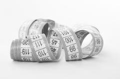Flexible measuring tape Stock Image