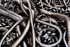 Flexible metal conduit Stock Images
