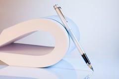 Flexible paper work Stock Photos