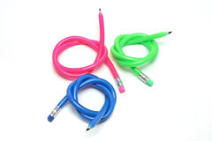 Flexible Pencils Royalty Free Stock Images
