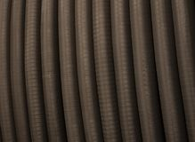 Flexible pipe, design, background and surface royalty free stock photography
