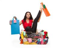 Flexible shopping Royalty Free Stock Images