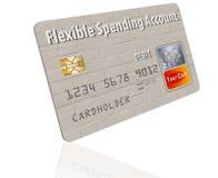 Flexible Spending Account FSA debit card. stock photography